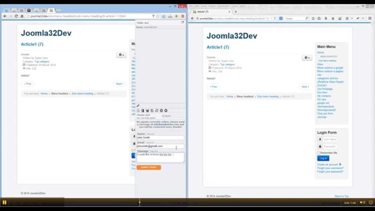 Joomla Help Desk Extensions