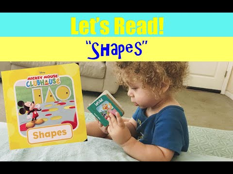 Let's Read And Learn Different Shapes.