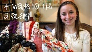 4 ways to wear a scarf   brooklyn and bailey