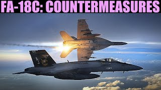FA-18C Hornet: Countermeasures (ECM, Chaff & Flares)   DCS WORLD