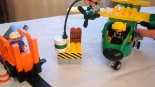 Видео обзоры LEGO Duplo Самолеты Пожарная спасательная команда
