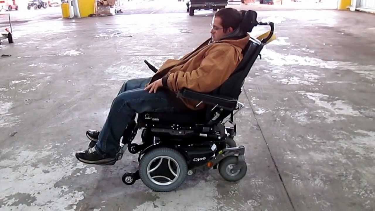 Permobil C300 Corpus Tilt Handicap Mobility Chair Youtube