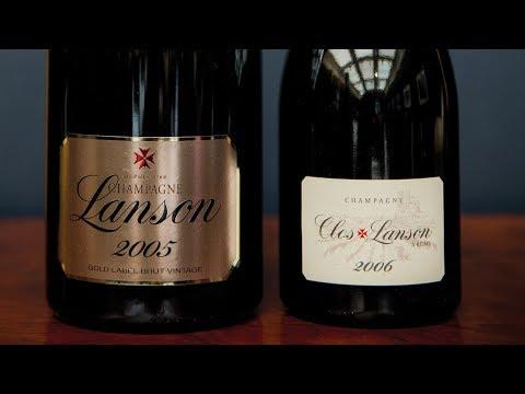 Prestige Cuvée vs Vintage Champagne with Jancis Robinson - Lanson Champagne Pair 4/8