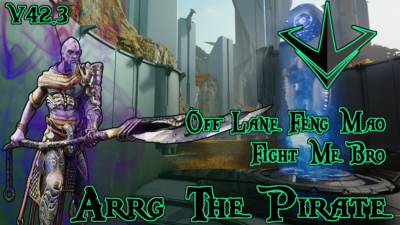 paragon feng mao deck build and guide off lane carry paragon