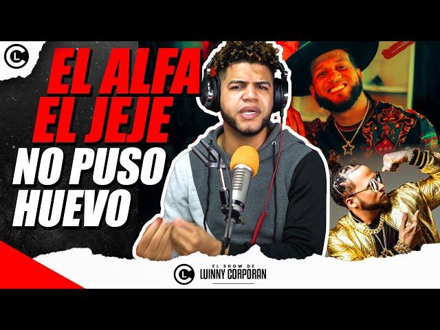 """EL ALFA """"EL JEFE"""" NO PUSO HUEVO EN CANCIÓN """"BEBÉ"""" CON CAMILO. LUINNY DEFIENDE Y ARREMETE CON HATERS"""