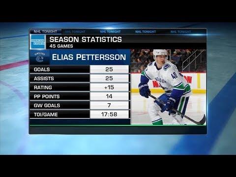 NHL Tonight:  Dan Murphy on Pettersson, Canuck`s playoff chances  Feb 11,  2019