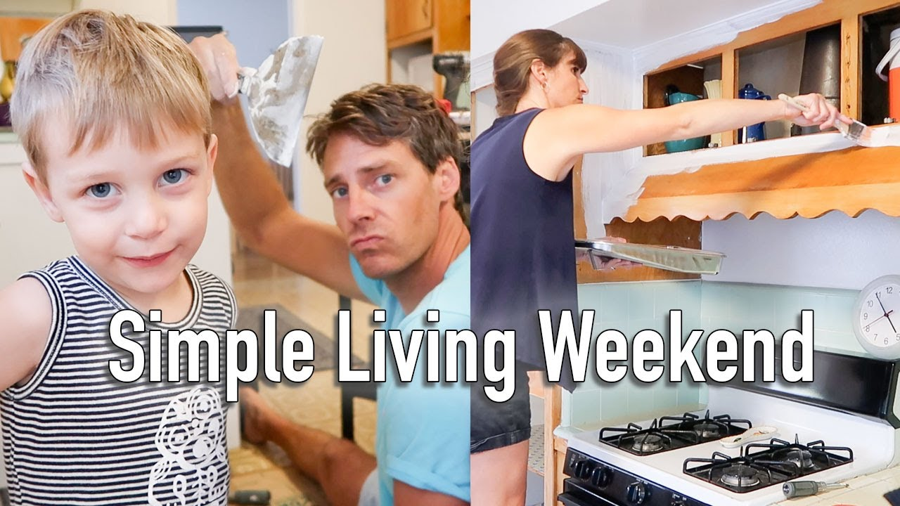 Weekend In The Life - Minimalist Family Home Projects
