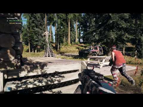 Hurk Fails Miserably - Far Cry 5
