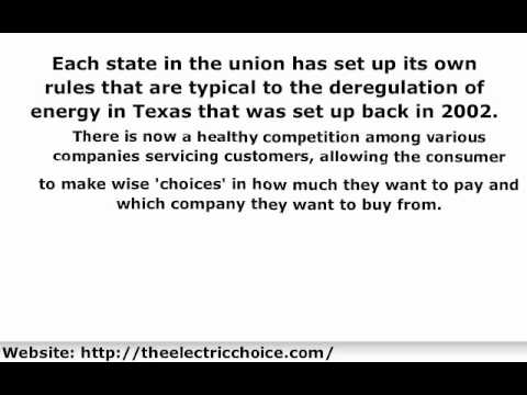 Texas Electricity Deregulation | Why Deregulation of Electricity in Texas Good for Consumers