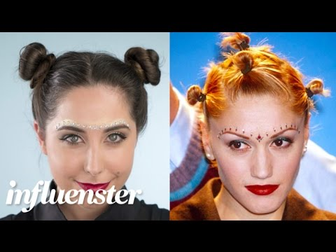 tbt �90s gwen stefani no doubt makeup tutorial youtube