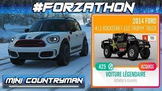Forza Horizon 4 #Forzathon MINI Countryman 2018 & Ford F-150 Trophy Truck