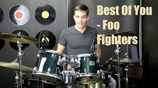 Best Of You Drum Tutorial - Foo Fighters