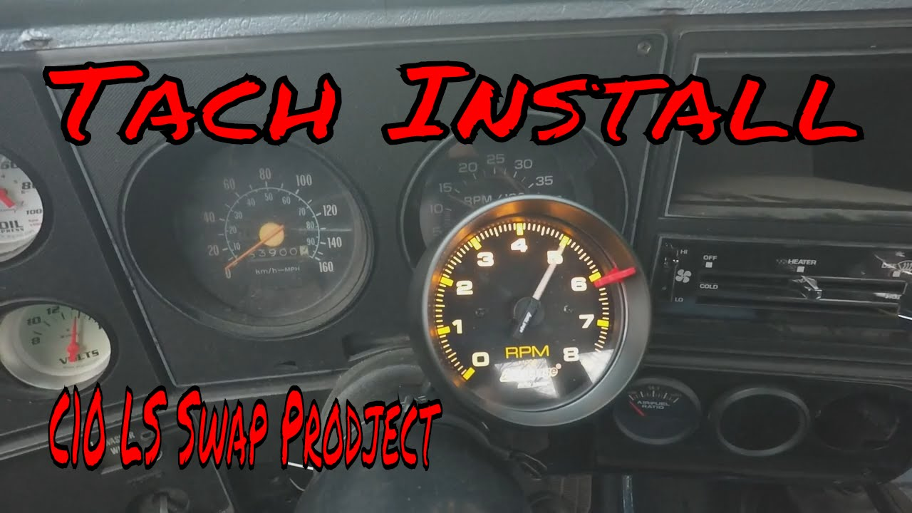 Tach Install On The 1980 C10 Ls Swap Project Roadkill