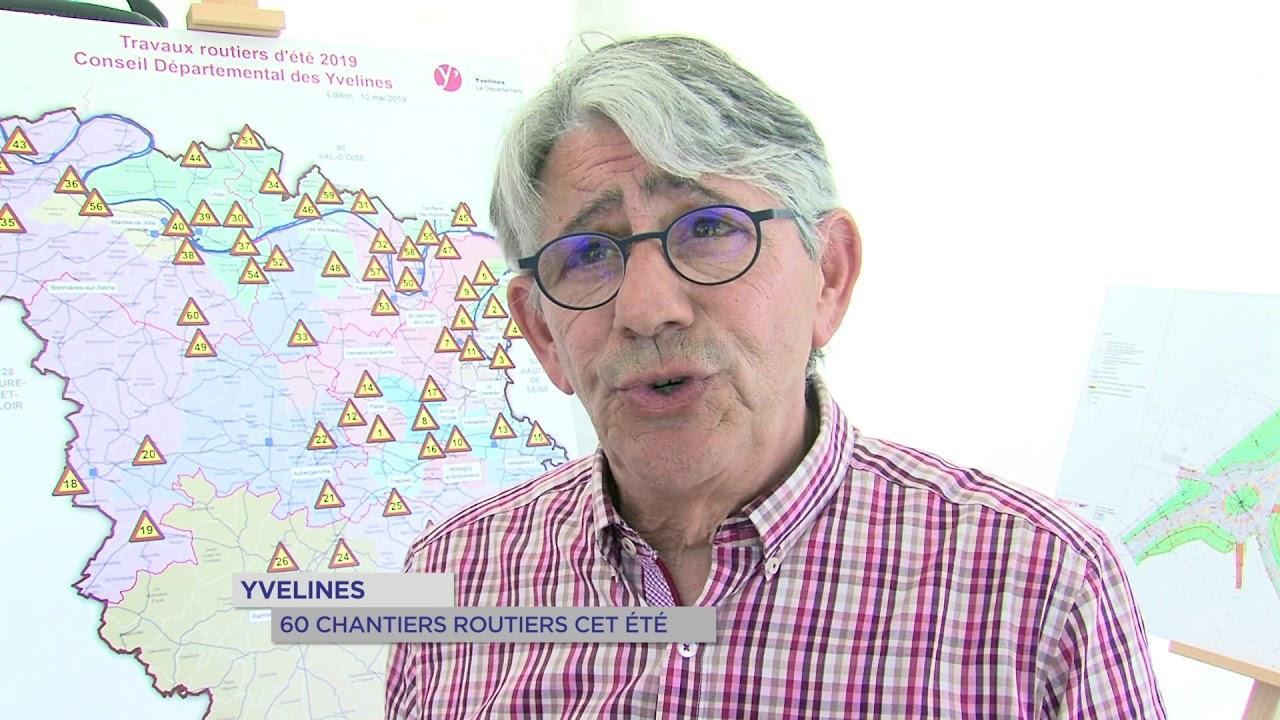 Yvelines | Été : 60 chantiers routiers dans les Yvelines