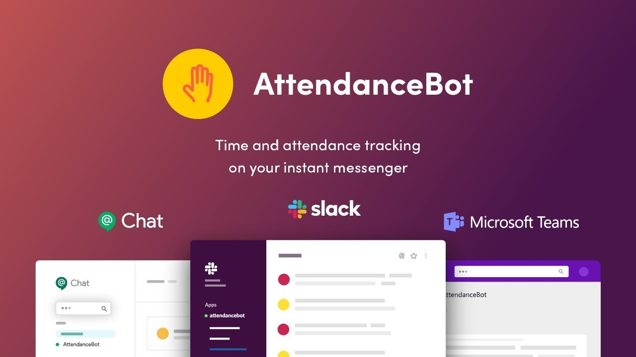 AttendanceBot - people management bot