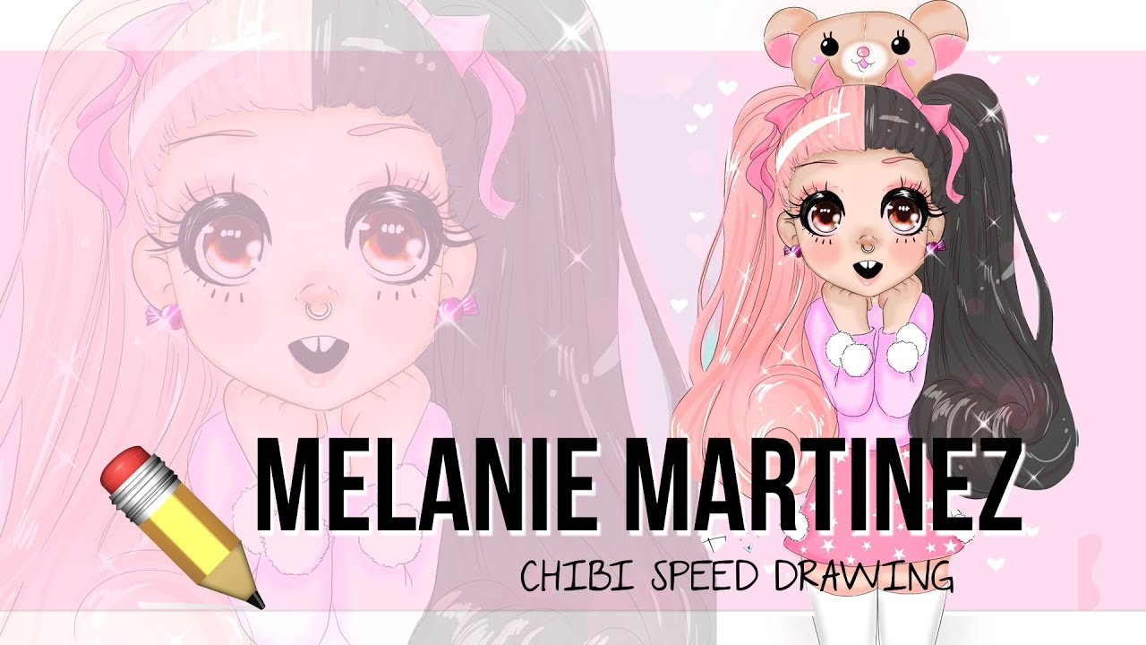 Melanie Martinez ♡ Chibi Version Speed Drawing Youtube