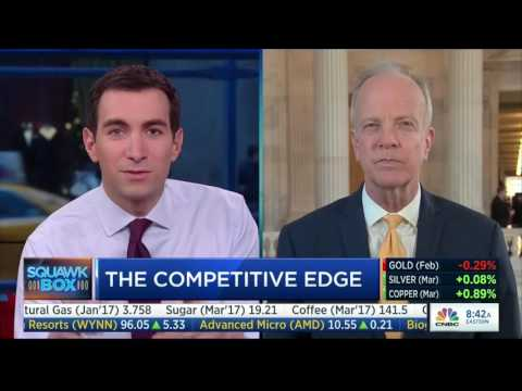 Sen. Jerry Moran Discusses American Competitiveness on CNBC