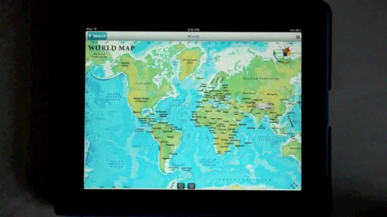 Maps of World iPad App: Language Search - YouTube Mapsofworld on