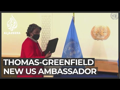 High hopes for new US ambassador to UN on her first day