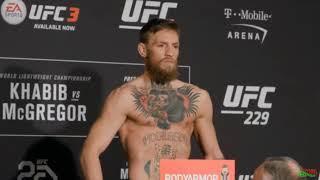ВЗВЕШИВАНИЕ КОНОРА МАКГРЕГОРА ПЕРЕД UFC 229