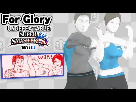 Wii Back!  | Undefeatable! ~ Wii Fit Trainer Ep. 18- SSB4 Wii U (For Glory)