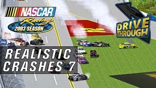 My NR2003 Gameplay Crash Clips #7 [NASCAR Racing 2003 Season Crash Compilation]