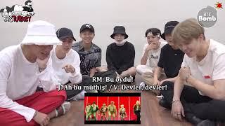 04.09.2018 BANGTAN BOMB BTS IDOL MV reaction (Türkçe Altyazılı)