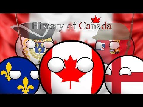 COUNTRYBALLS | История Канады (History Of Canada)