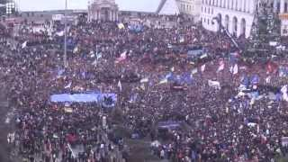 The Rally That Turned Into a Revolution. December 1, 2013. Kyiv, Ukraine.