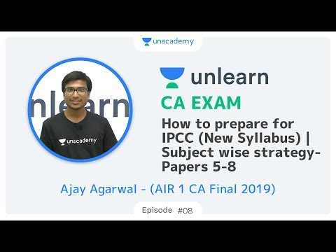 How to prepare for CA Intermediate (New) | Subject wise strategy- Papers 5-8 | AIR 1 CA Ajay Agarwal