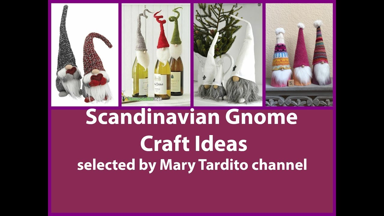 Scandinavian gnome crafts ideas christmas crafts to make for Scandinavian christmas craft ideas
