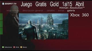 Juego gratis Xbox Live Gold Abril 1ª quincena Hitman Absolution 3-4-2014