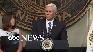 Vice President Mike Pence visits Las Vegas