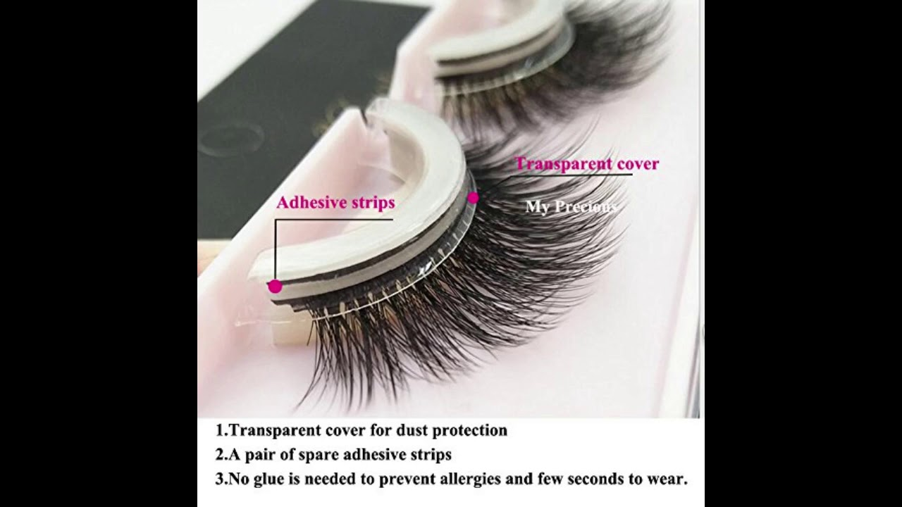 3ad8cb77f1a Self Adhesive Eyelashes Pack 3D False Eyelashes Non Irritating Lashes – IT  Cosmetics