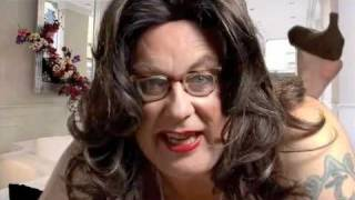 Vic Reeves as Cheryl Cole - Shooting Stars Christmas Special 2010