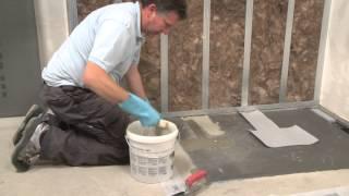 Wedi | En - Training: Installing The Flush-to-floor Shower Fundo Plano Linea