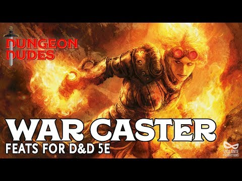 War Caster - Feats in D&D 5e - YouTube
