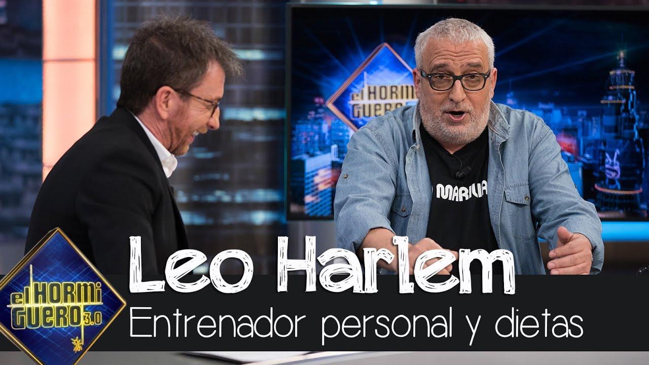 Leo Harlem desata las risas hablando de su entrenador personal y de dietas - El hormiguero 3.0