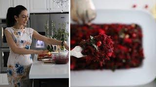 Изумительно Вкусныи и Полезныи Салат из Све клы и Граната Рецепт от Эгине Heghineh