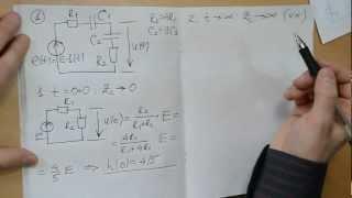1-4. Найти переходную и импульсную характеристики(Анализ цепи первого порядка качественным методом., 2013-02-26T12:39:25.000Z)