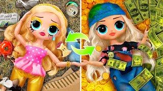 Rich vs Broke Sisters / 11 LOL Surprise Ideas