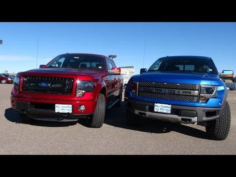 TFL 2014 Ford F-150 SVT Raptor vs Ford FX4 Mashup Review (Episode 4)