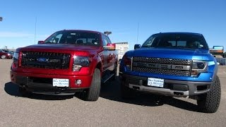 TFL 2014 Ford F-150 SVT Raptor vs Ford FX4 Mashup Review (Episode 4)
