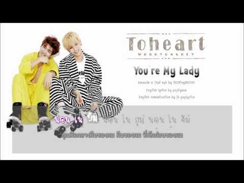 [Karaoke-Thai sub] Toheart (Key & Woohyun) - You're my lady