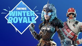 Fortnite BattleRoyale | VKK CLAN RECRUITMENT|2500V-BUCK GIVEAWAY AT 100 SUBS| WINTER ROYALE LETS GET