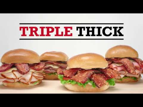 Arby's: Triple Thick Brown Sugar Bacon | Thickness Remix
