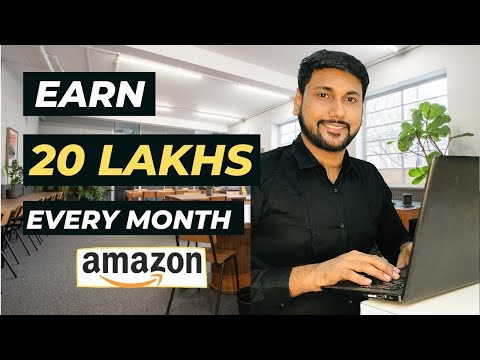 Earn 20 LAKHS Every Month on Amazon Fba India & Learn How To Make Money Online By Selling Products !