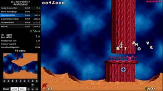 Jazz Jackrabbit 2 E1-4 as Spaz in 18:52 [Outdated]