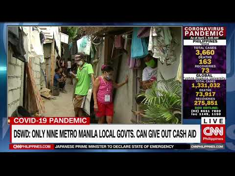DSWD: Only Nine Metro Manila Local Governments Can Give Out Cash Aid