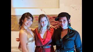 Violin - Poetry - Art - Dance Trio Improvisation (Berlin, Nov 2019)